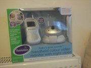 Brand New 'Summer' Colour Handheld Baby video monitor with nightvision